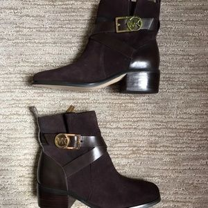 Michael Kors Brown Suade Boots
